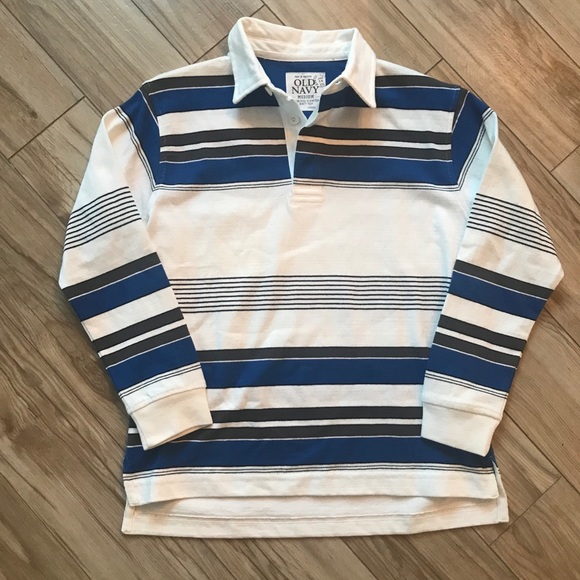 Old Navy Other - NWOT Old Navy Striped Long Sleeve Polo
